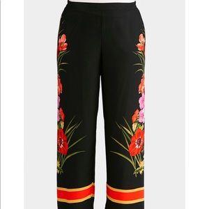 Pants - NEW!! Plus Tropical Palazzo Pants